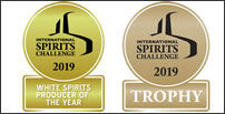 ISC2019トロフィー WHITE SPIRITS PRODUCER OF THE YEAR